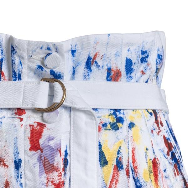 Pantaloni bianchi cin macchie di vernice                                                                                                               PHILOSOPHY PHILOSOPHY