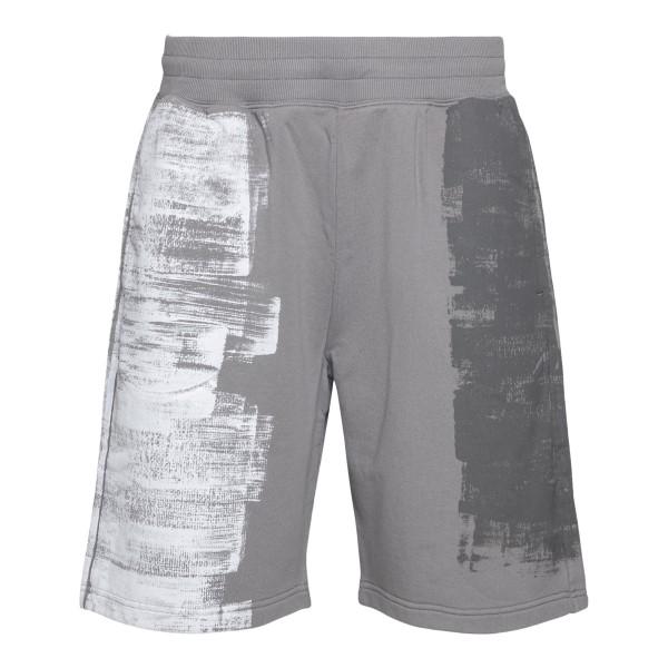 Pantaloncini sportivi grigi effetto vernice                                                                                                           A Cold Wall ACWMB055 retro