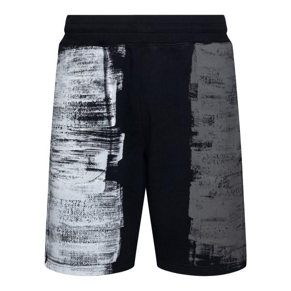 Pantaloncini neri effetto vernice                                                                                                                     A Cold Wall ACWMB055 retro