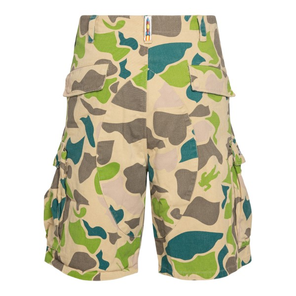 Bermuda beige con stampa camouflage                                                                                                                    BILLIONAIRE BOYS CLUB                              BILLIONAIRE BOYS CLUB