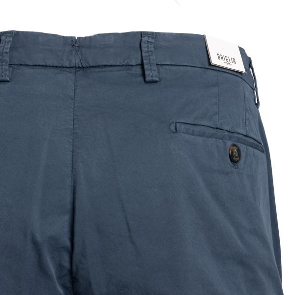 Avio blue bermuda shorts with turn-ups                                                                                                                 BRIGLIA 1949