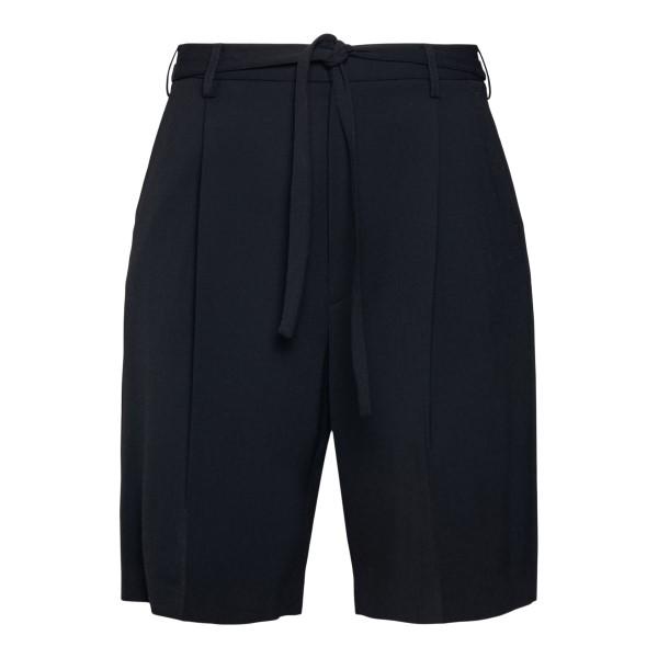 Black shorts with crease                                                                                                                              Ambush BMCB001S21FAB001 back