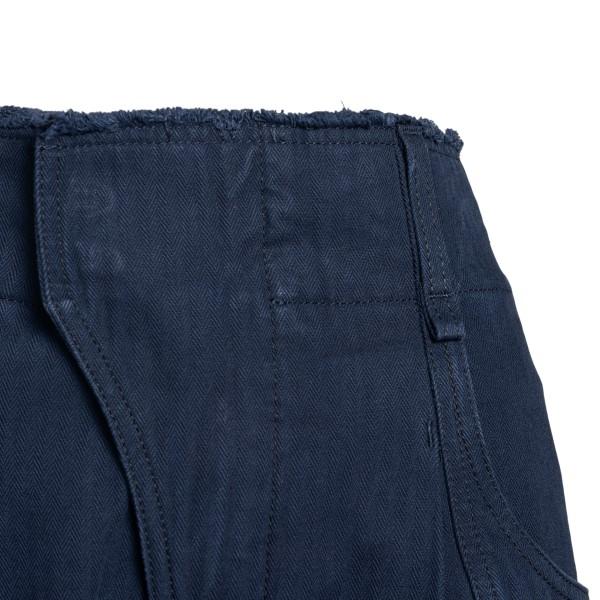 Pantaloncini blu con patta curva                                                                                                                       CHLOE'                                             CHLOE'