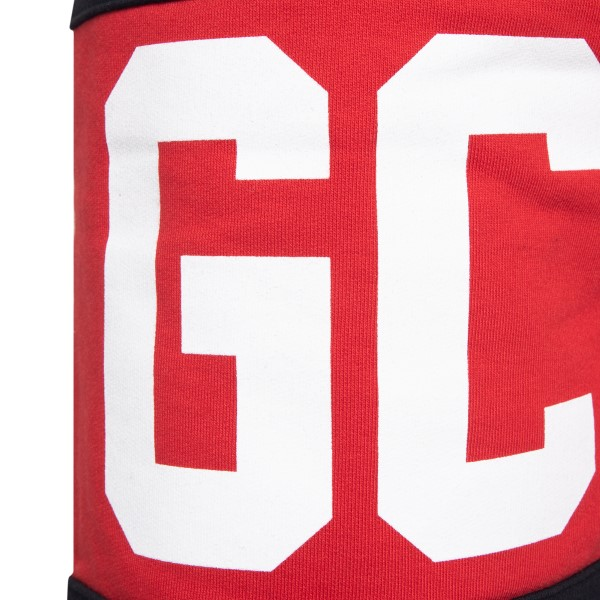 Pantaloncini sportivi neri con logo                                                                                                                    GCDS                                               GCDS