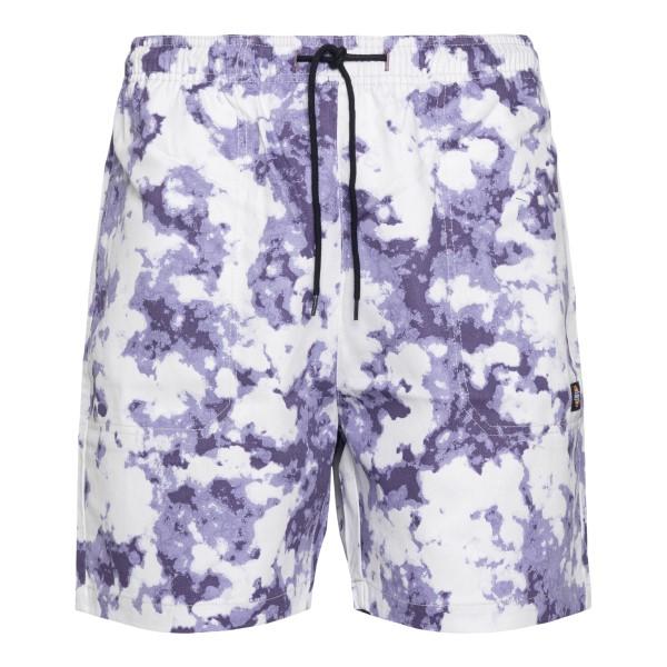Pantaloncini sportivi lilla e bianchi                                                                                                                 Dickies DK0A4XAZ retro
