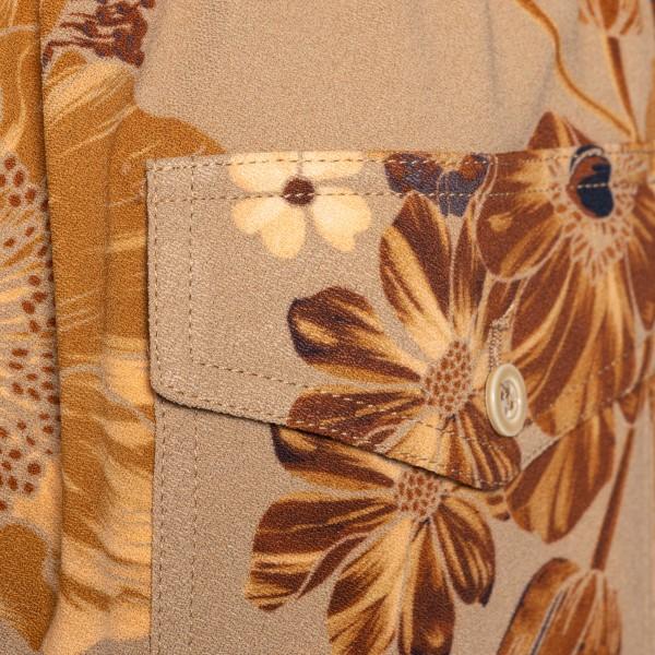 Pantaloncini beige a fiori                                                                                                                             AMI AMI