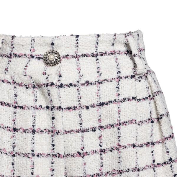 White checked shorts                                                                                                                                   ALESSANDRA RICH
