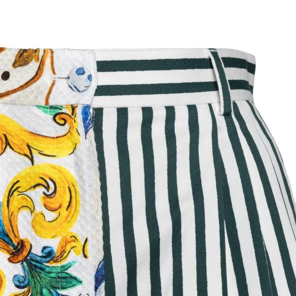 Pantaloncini multicolore con stampe                                                                                                                    DOLCE&GABBANA                                      DOLCE&GABBANA
