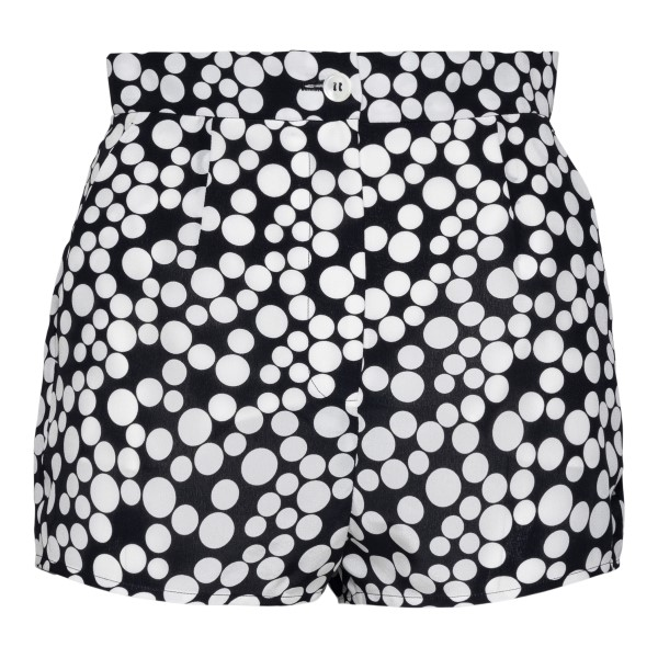 Black polka dot shorts                                                                                                                                Dolce&gabbana FTBTPT back