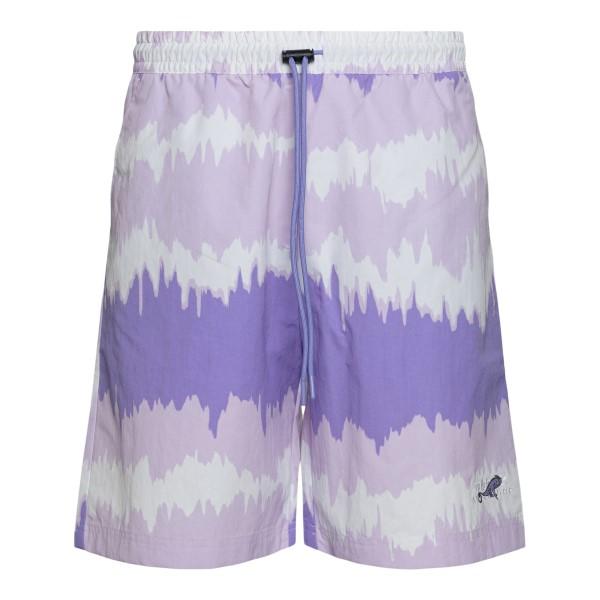 Pantaloncini viola con ricamo logo                                                                                                                    Adidas Originals GN2346 retro