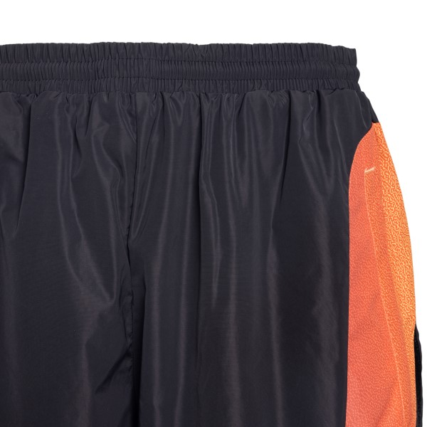 Black shorts with multicolored band                                                                                                                    ADIDAS ORIGINALS