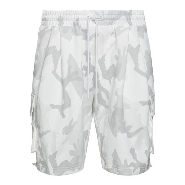 White camouflage sports shorts                                                                                                                        Dolce&gabbana GYSJAZ back