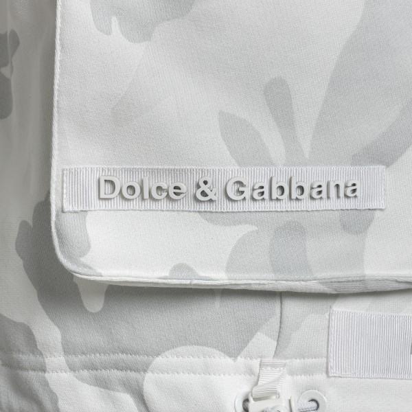 White camouflage sports shorts                                                                                                                         DOLCE&GABBANA