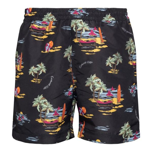 Pantaloncini neri con stampa grafica                                                                                                                  Carhartt I015812 retro