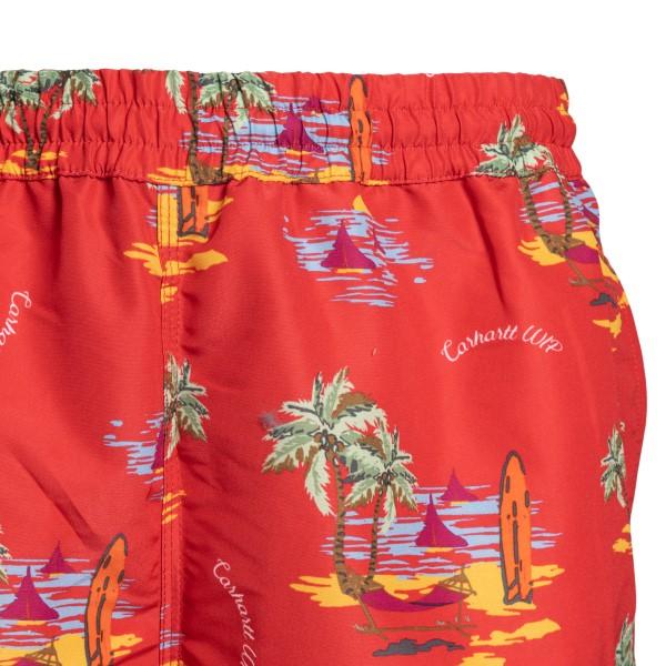Pantaloncini rossi con stampa grafica                                                                                                                  CARHARTT                                           CARHARTT