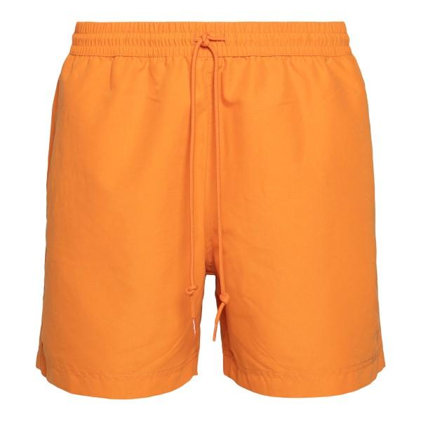 Pantaloncini sportivi arancioni                                                                                                                       Carhartt I026235 retro
