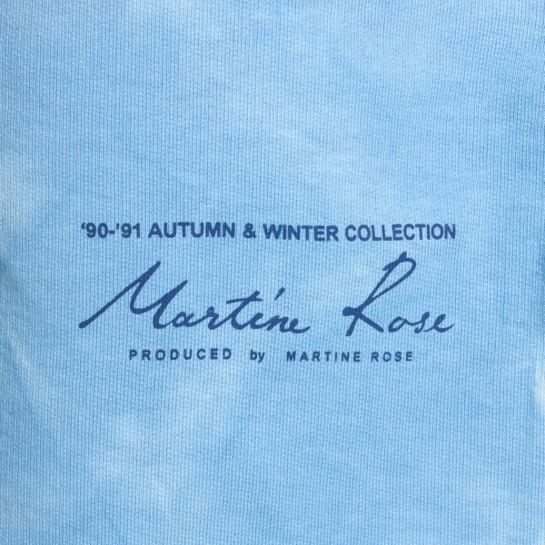 Light blue shorts with faded effect                                                                                                                    MARTINE ROSE