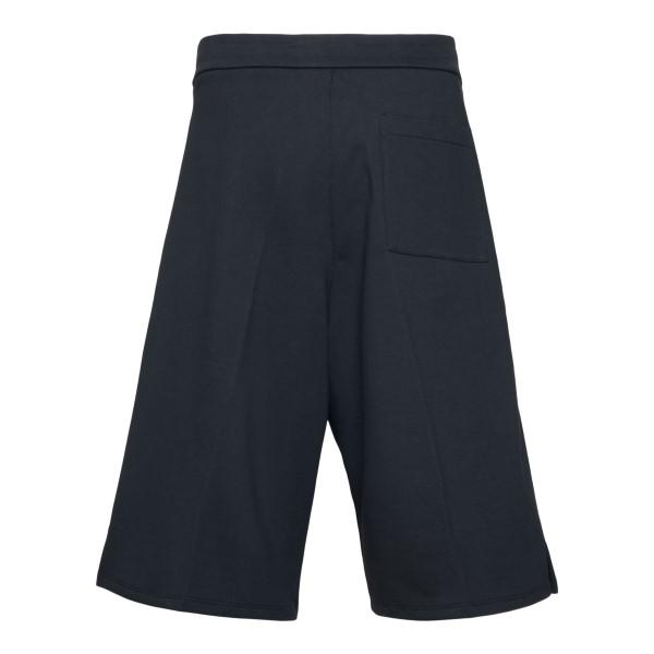 Black bermuda shorts with logo patch                                                                                                                   OAMC