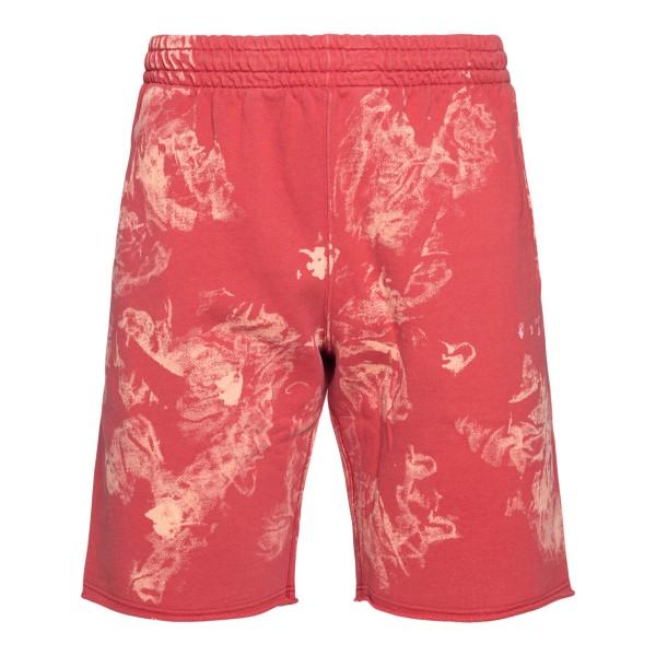 Pantaloncini rossi con tinta sfumata                                                                                                                  Off White OMCI006S21FLE005 retro