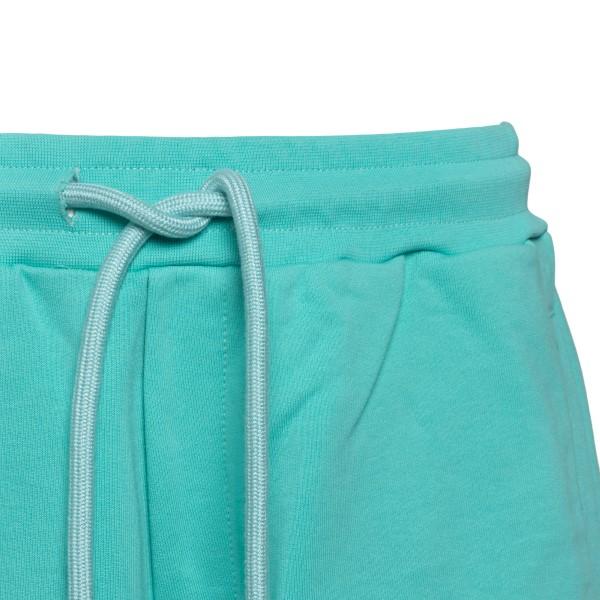 Light blue sports shorts with logo                                                                                                                     PHARMACY