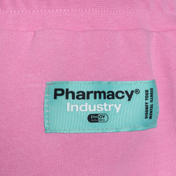 Pink sports shorts                                                                                                                                     PHARMACY