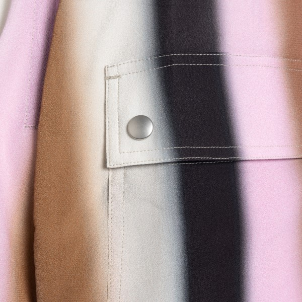 Multicolored shorts with low crotch                                                                                                                    RICK OWENS