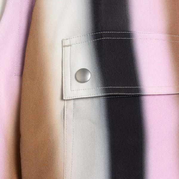 Pantaloncini multicolore con cavallo basso                                                                                                             RICK OWENS                                         RICK OWENS