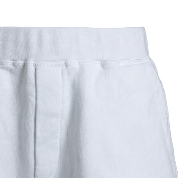 White sports shorts with print                                                                                                                         DSQUARED2