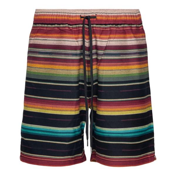 Pantaloncini multicolore a righe                                                                                                                      Stampd SLAM1615SH retro