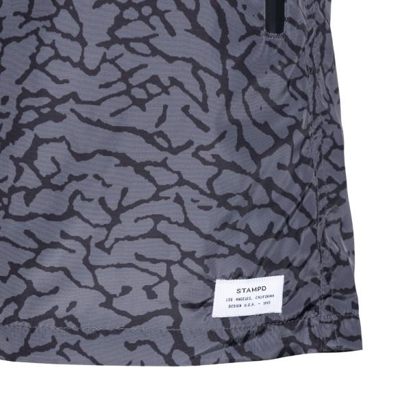 Costume grigio con stampa astratta                                                                                                                     STAMPD                                             STAMPD