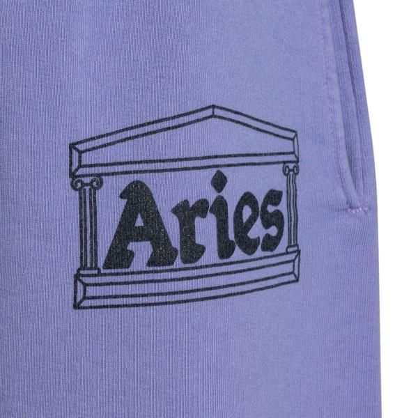Pantaloncini sportivi lilla con logo                                                                                                                   ARIES                                              ARIES