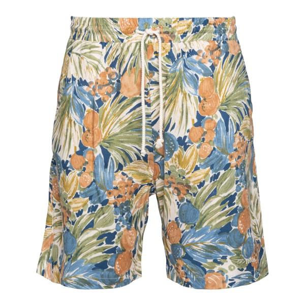 Multicolored floral shorts                                                                                                                             DROLE DE MONSIEUR