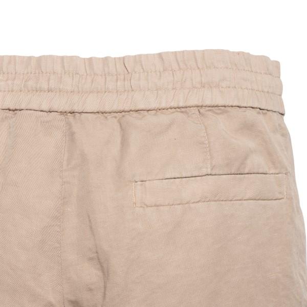 Pantaloncini beige con coulisse                                                                                                                        BRUNELLO CUCINELLI                                 BRUNELLO CUCINELLI