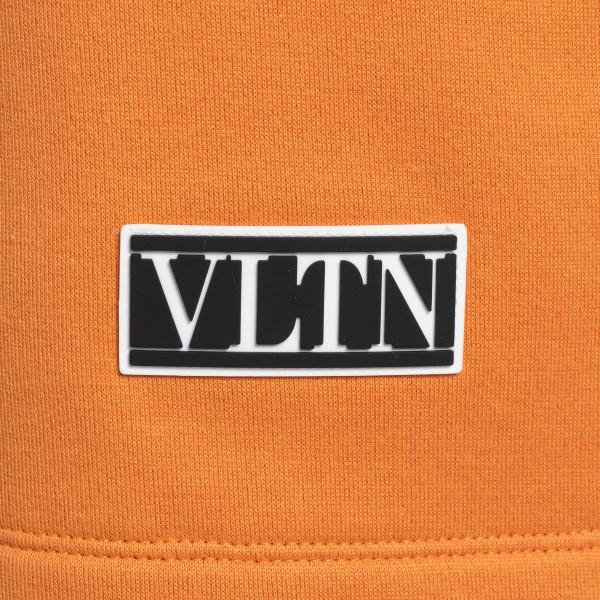 Pantaloncini sportivi arancioni con logo                                                                                                               VALENTINO                                          VALENTINO