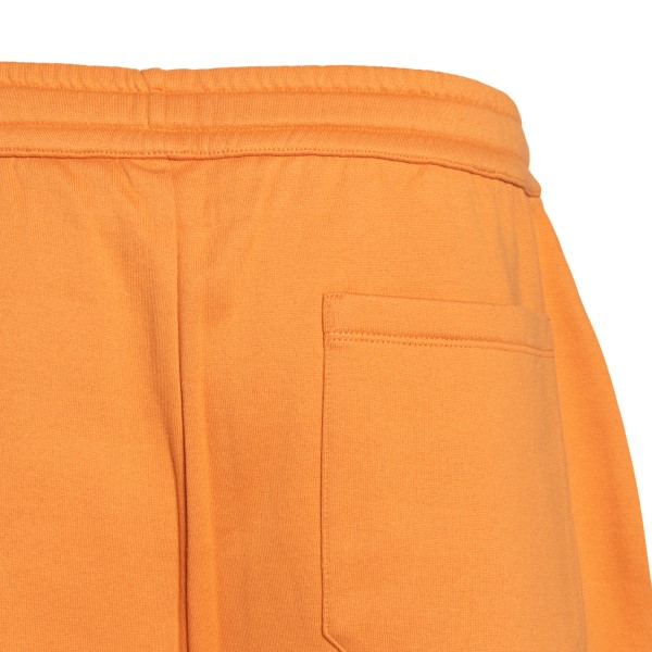 Orange sports shorts with logo                                                                                                                         VALENTINO