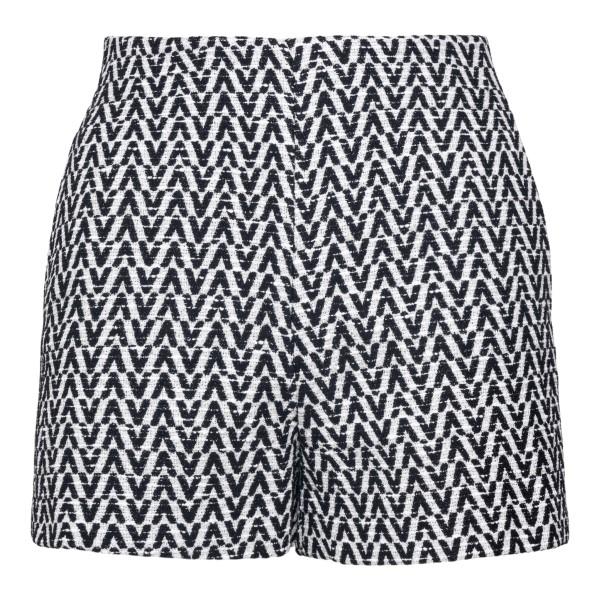 Pantaloncini con pattern logo                                                                                                                          VALENTINO                                          VALENTINO