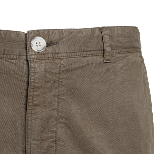 Military green bermuda with pockets                                                                                                                    WOOLRICH