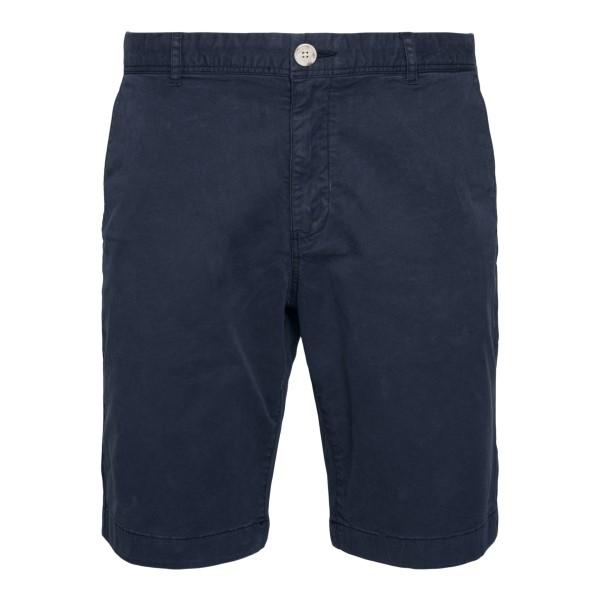 Blue bermuda                                                                                                                                          Woolrich WOSH0018MR back