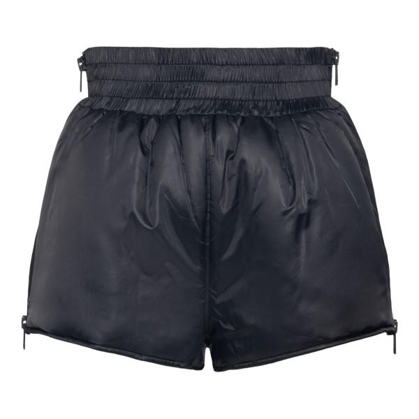Pantaloncini neri con zip                                                                                                                              RED VALENTINO                                      RED VALENTINO