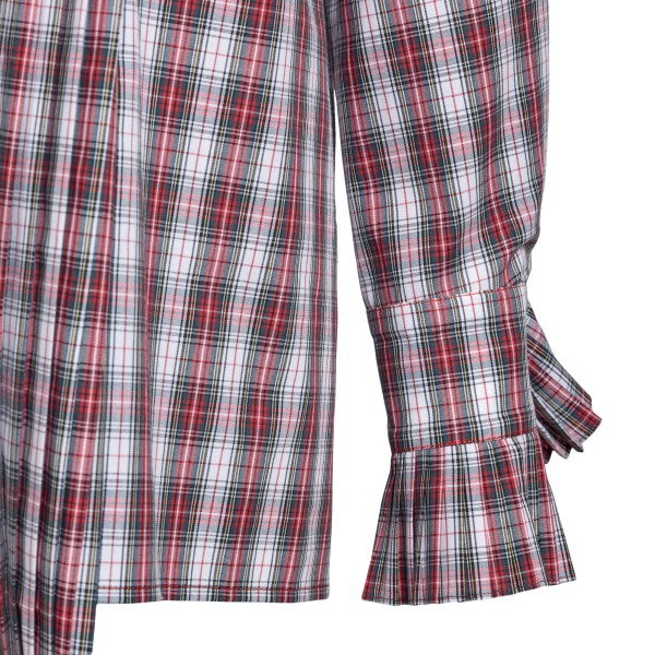 Red checkered shirt                                                                                                                                    PHILOSOPHY
