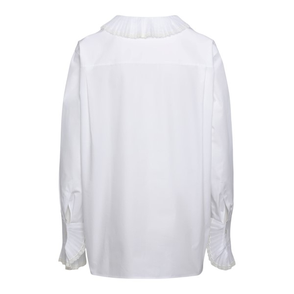 Blusa bianca con drappeggi                                                                                                                             PHILOSOPHY                                         PHILOSOPHY