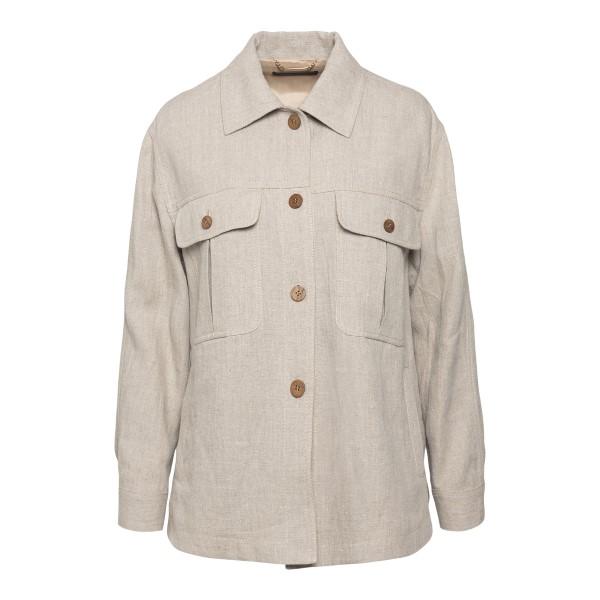 Camicia morbida in colore grigio chiaro                                                                                                               Alberta Ferretti 0506 retro