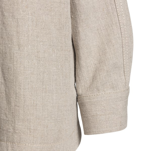 Soft shirt in light grey color                                                                                                                         ALBERTA FERRETTI