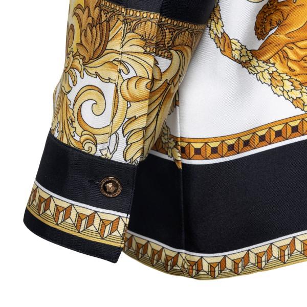 Camicia multicolore con motivo stile Barocco                                                                                                           VERSACE VERSACE