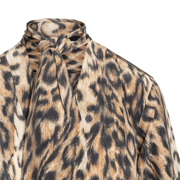 Lightweight animal print shirt                                                                                                                         VICTORIA BECKHAM