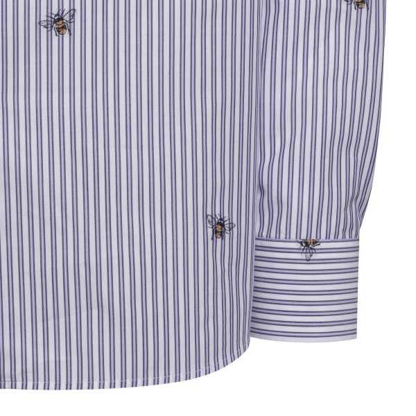 Striped shirt with bees                                                                                                                                ETRO