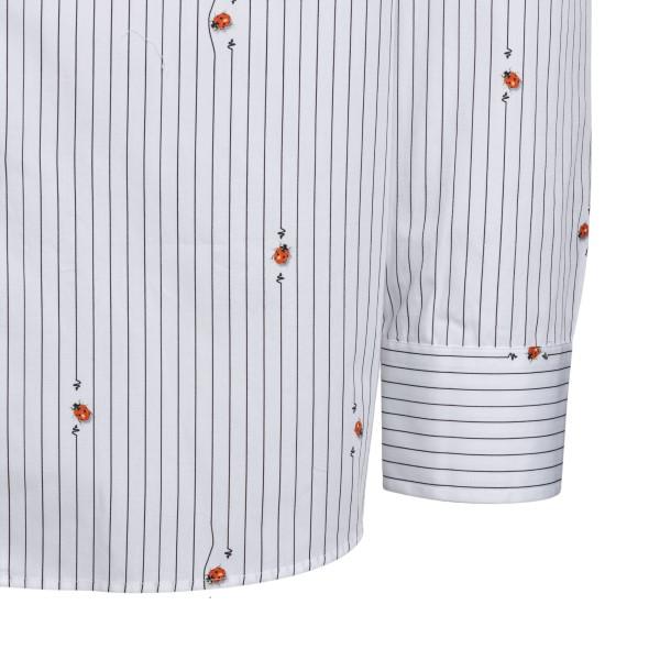 Camicia bianca con stampa coccinelle                                                                                                                   ETRO ETRO