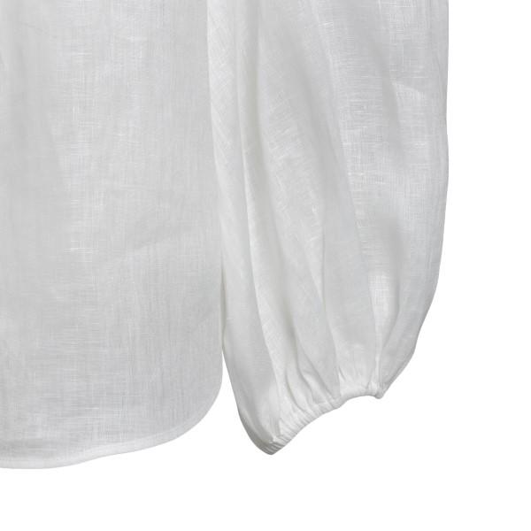 Camicia bianca con pizzo                                                                                                                               ZIMMERMANN                                         ZIMMERMANN