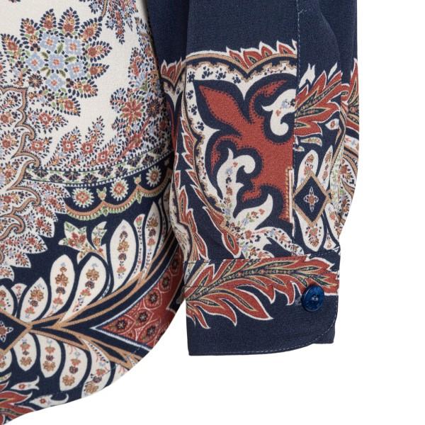 Multicolored paisley print shirt                                                                                                                       ETRO