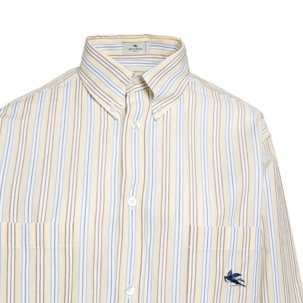 Long multicolored striped shirt                                                                                                                        ETRO